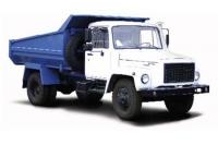 Самосвал с задней разгрузкой на базе ГАЗ 3309
