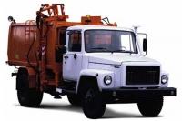 Мусоровоз КО-440-2 с боковой загрузкой на базе газ 3309